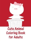 Cute Animal Coloring Book For Adults: christmas coloring book adult for relaxation (Animals Around the World #6) Cover Image