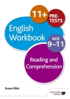 Reading & Comprehension Workbook Age 9-11 Cover Image