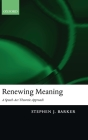 Renewing Meaning: A Speech-ACT Theoretic Approach Cover Image