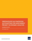 Greenhouse Gas Emissions Accounting for Adb Energy Project Economic Analysis: Guidance Note Cover Image