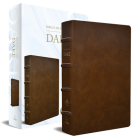 RVR 1960 Biblia de estudio Dake, tamaño grande, piel marrón / Spanish RVR 1960 D ake Study Bible, Large Size, Brown Leather Cover Image