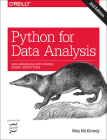 Python for Data Analysis: Data Wrangling with Pandas, Numpy, and Ipython Cover Image