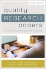 Quality Research Papers: For Students of Religion and Theology Cover Image