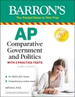 AP Comparative Government and Politics: With 3 Practice Tests (Barron's Test Prep) Cover Image