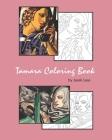 Tamara Coloring Book: Coloring Book with the most famous Tamara de Lempicka paintings Cover Image