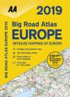 2019 Big Road Atlas Europe Cover Image