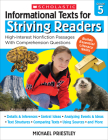 Informational Texts for Striving Readers: Grade 5: 30 High-Interest, Low-Readability Passages With Comprehension Questions Cover Image