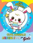 Cute Animals Coloring Book for Girls: Coloring for Children Cover Image