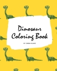 Dinosaur Coloring Book for Boys / Kids (Large Softcover Coloring Book for Children) Cover Image