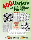 Variety Puzzle Book, 400 Puzzles, Volume 1 Cover Image