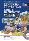 Renniks Australian Coin & Banknote Values 26th Edition: The coin collectors reference Cover Image