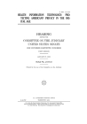 Health information technology: protecting Americans' privacy in the digital age: hearing before the Committee on the Judiciary, United States Senate, Cover Image
