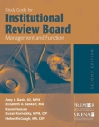 Study Guide for Institutional Review Board Management and Function Cover Image