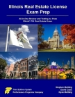 Illinois Real Estate License Exam Prep: All-in-One Review and Testing To Pass Illinois' PSI Real Estate Exam Cover Image