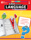 180 Days of Language for First Grade (180 Days of Practice) Cover Image