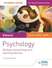 Edexcel Psychology: Biological Psychology and Learning Theoriesstudent Guide No.2 Cover Image