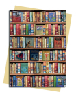Bodleian Libraries: Hobbies and Pastimes Bookshelves Greeting Card: Pack of 6 (Greeting Cards) Cover Image