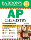 AP Chemistry with Online Tests (Barron's Test Prep) Cover Image