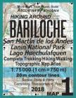 Hiking Around Bariloche Map 1 San Martin de los Andes, Lanin National Park, Lago Huechulafquen Complete Trekking/Hiking/Walking Topographic Map Atlas Cover Image