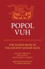 Popol Vuh: The Sacred Book of the Ancient Quiche Maya (Civilization of the American Indian #29) Cover Image