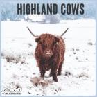 Highland Cows 2021 Wall Calendar: Official Highland cattle Calendar 2021, 18 Months Cover Image