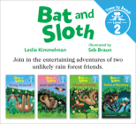 Bat and Sloth Set #1 (Bat and Sloth: Time to Read, Level 2) Cover Image