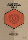 The NKJV Essential Teen Study Bible, Orange Cork LeatherTouch Cover Image