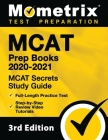 MCAT Prep Books 2020-2021 - MCAT Secrets Study Guide, Full-Length Practice Test, Step-By-Step Review Video Tutorials: [3rd Edition] Cover Image
