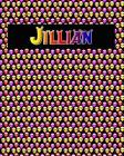 120 Page Handwriting Practice Book with Colorful Alien Cover Jillian: Primary Grades Handwriting Book Cover Image