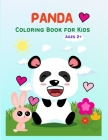 Panda: Cute Panda Coloring Book for Kids, Toddlers, Girls and Boys. Activity Workbook for Kids Ages 2+ Cover Image