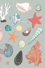 Seashell Journal: 100 lined pages, perfect gift for the seashell collector or beach lover, adults or kids, journal/notebook, size 6