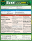 Microsoft Excel 365 Formulas: A Quickstudy Laminated Reference Guide Cover Image