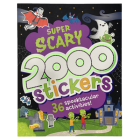 2000 Stickers Super Scary Activity Book: 36 Spooktacular Activities! Cover Image