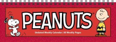 Peanuts Undated Weekly Desk Pad Calendar Cover Image