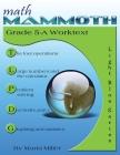 Math Mammoth Grade 5-A Worktext Cover Image