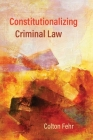 Constitutionalizing Criminal Law Cover Image