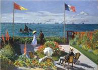 Puzzle Garden at Sainte-Adresse Cover Image