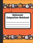 Halloween Composition Notebook: Halloween Themes Style, 8.5