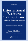 International Business Transactions: Problems, Cases, and Materials, Fourth Edition, Documents Supplement (Supplements) Cover Image