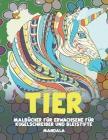 Malbücher für Erwachsene für Kugelschreiber und Bleistifte - Mandala - Tier Cover Image