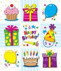 Birthday Prize Pack Stickers Cover Image