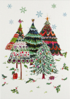 Merry Evergreens Small Boxed Holiday Cards Cover Image