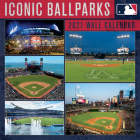 Mlb Iconic Ballparks 2021 12x12 Stadium Wall Calendar Cover Image