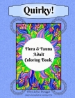 Quirky! Flora and Fauna Adult Coloring Book: Hand-Drawn Plants and Animals Coloring Pages For Stress Relief, Anxiety, and Relaxation Cover Image