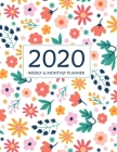 2020 Planner Weekly and Monthly: 12 Months Calendar Schedule + Academic Organizer for To Do List, Schedule Agenda Logbook, Personal Appointment from J Cover Image