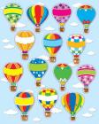 Hot Air Balloons Shape Stickers Cover Image