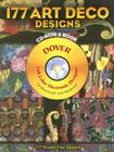 177 Art Deco Designs [With CDROM] (Dover Electronic Clip Art) Cover Image