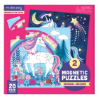 Magical Unicorn Magnetic Puzzle Cover Image