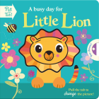 A busy day for Little Lion (Push Pull Stories) Cover Image