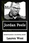 Jordan Peele Mindfulness Coloring Book Cover Image